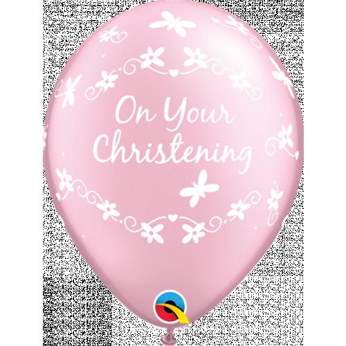 "11"" Pearl Pink Pk25 Christening"