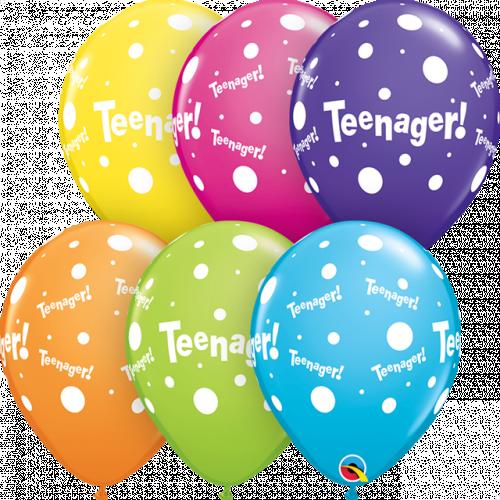 "11"" Tropical Ast Pk25 Teenager!"