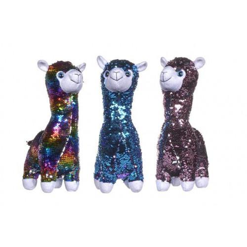 """13""""/33Cm Sequin Llama"""