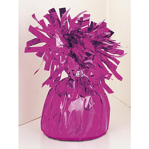 FOIL BALLOON WEIGHT - MAGENTA 6 PIECES