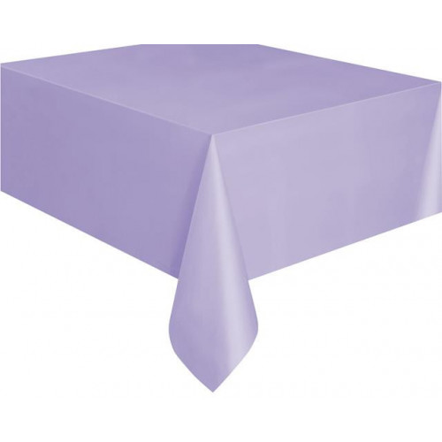 "LAVENDER TABLECOVER 54X108"" 12 PIECES"