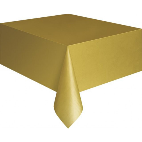 GOLD TABLECOVER 54X108""