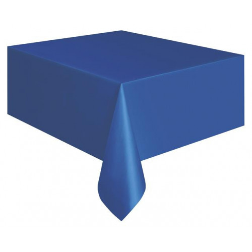 """ROYAL BLUE TABLECOVER 54X108"""" 12 PIECES"""