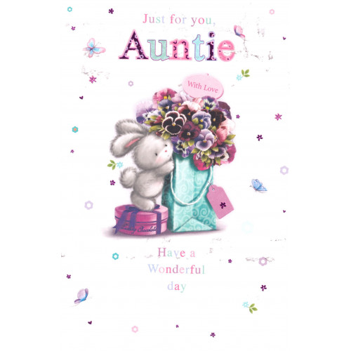 PK6 C50 CARDS GREETINGS STOCK CONTROL AUNTIE