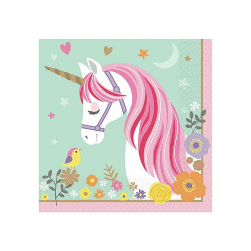 Magical Unicorn Napkins
