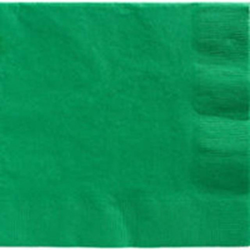 DINNER NAPKINS 20 FESTIVE GREEN - 2PLY