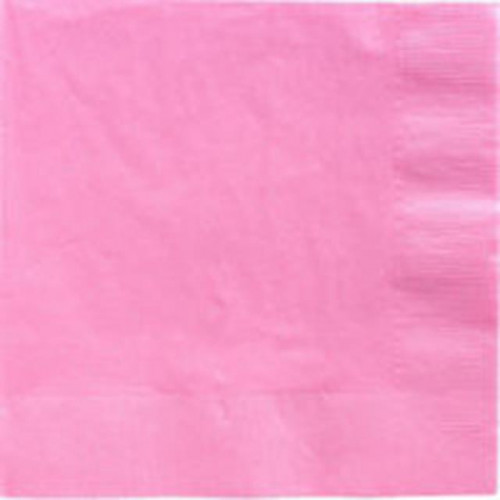 DINNER NAPKINS 20 NEW PINK - 2PLY 12 PIECES