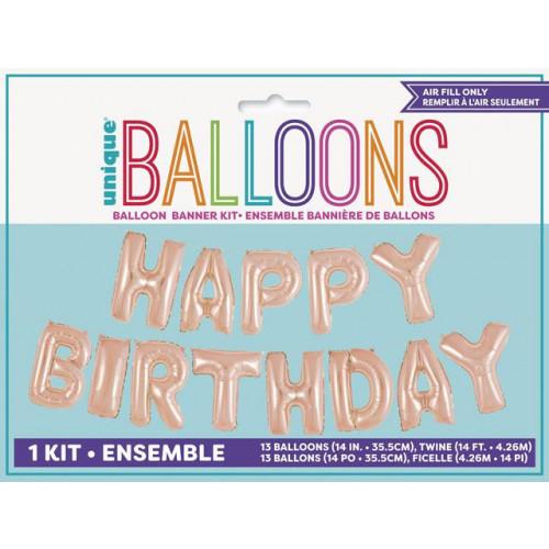 """14"""" Balloon Banner Kit"""