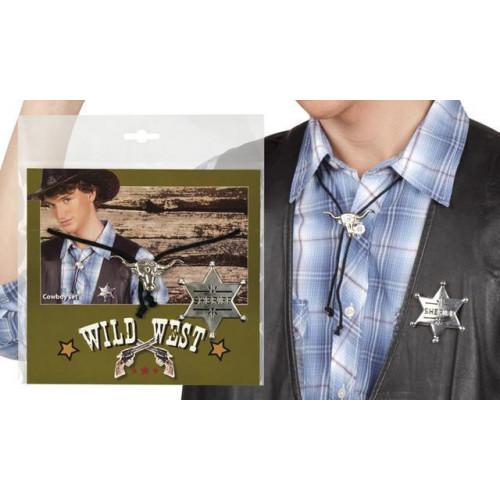 SET COWBOY (NECKLACE + SHERIFF STAR)