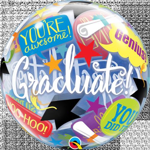 """22"""" Graduation Bubble"""