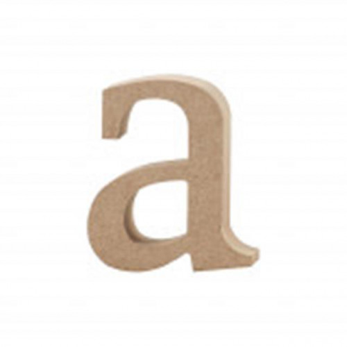 Letter A MDF