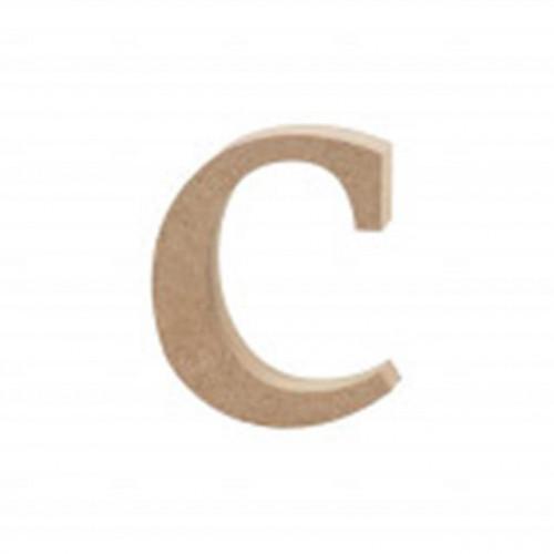 Letter C MDF