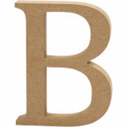 Letter B MDF