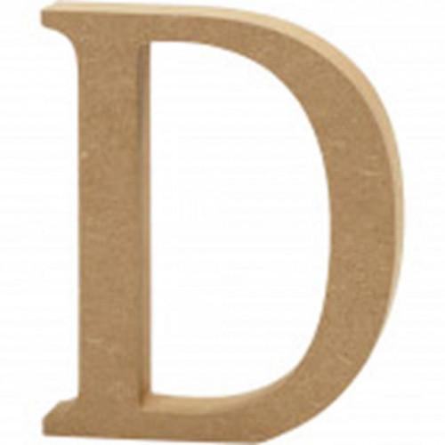 Letter D MDF