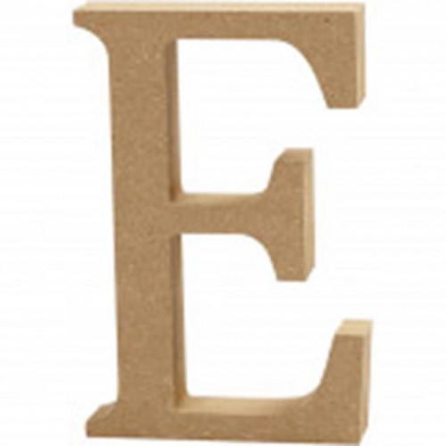 Letter E MDF