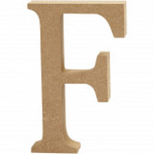 Letter F MDF