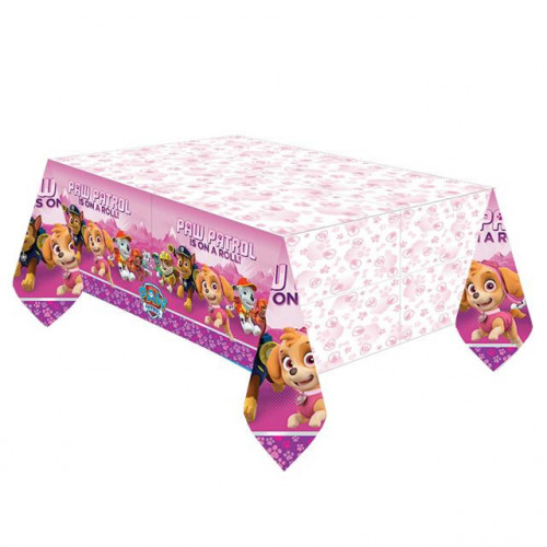 TABLECOVER PLASTIC PAW PATROL GIRL