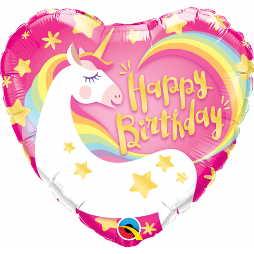 "18"" Magical Unicorn Birthday"