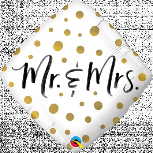 "18"" Mr & Mrs"