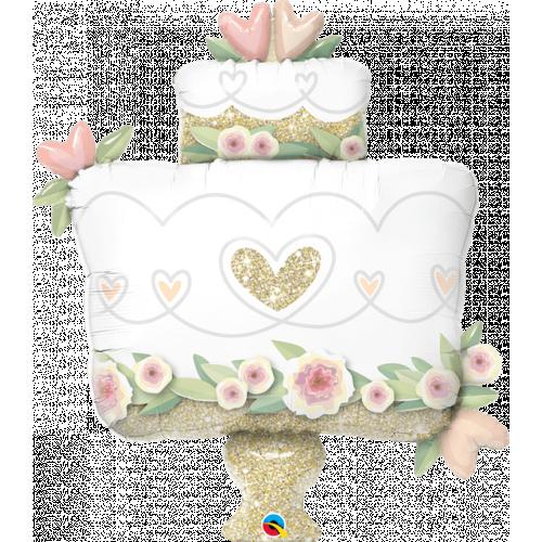 """41"""" Wedding Cake Supershape"""