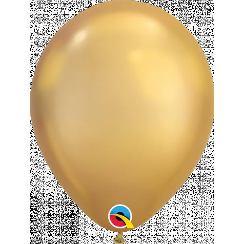 "11"" Chrome Gold Pk100 Latex"
