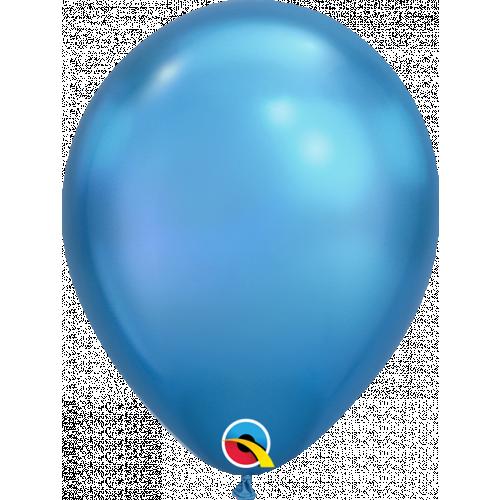 """11"""" Chrome Blue Pk100 Latex"""