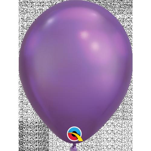 "11"" Chrome Purple Pk100 Latex"