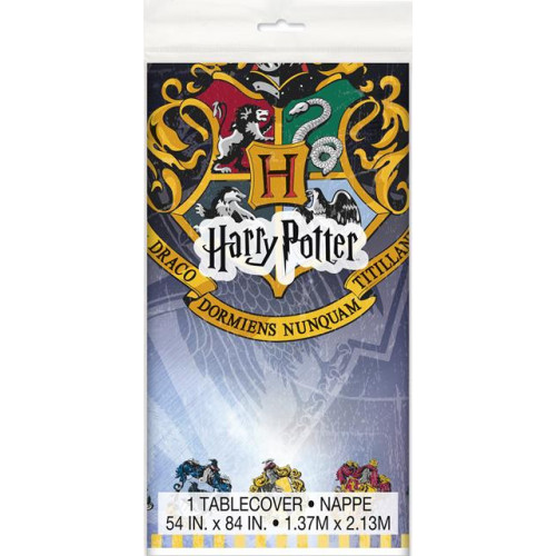 HARRY POTTER PLASTIC TABLECOVER 54X84