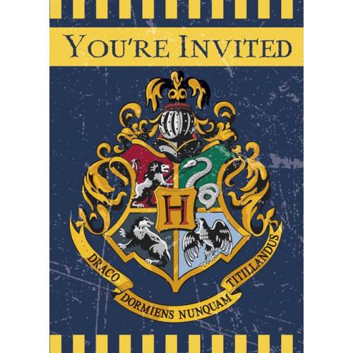 8 HARRY POTTER INVITE