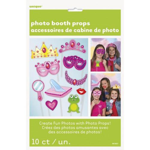 10 PRINCESS PHOTO PROPS
