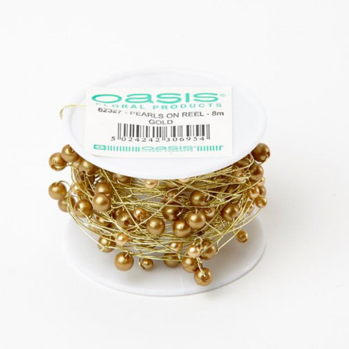 Pearls On A Reel Gold 8M