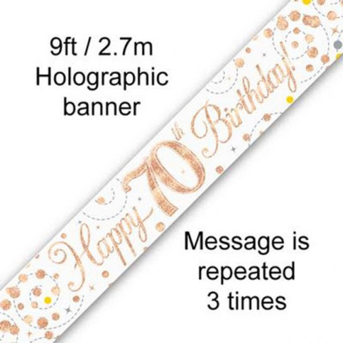 Age 70 Banner