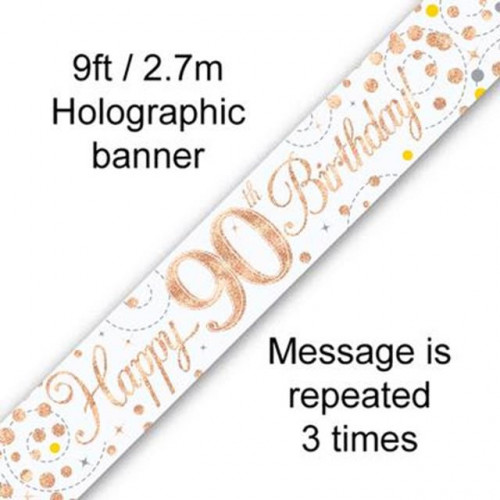 Age 90 Banner