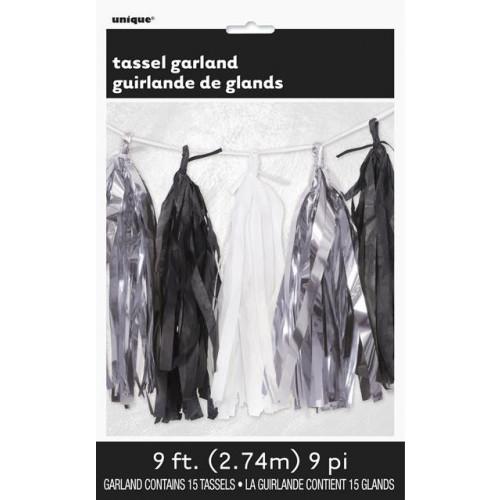 Tissue Tassel Garland