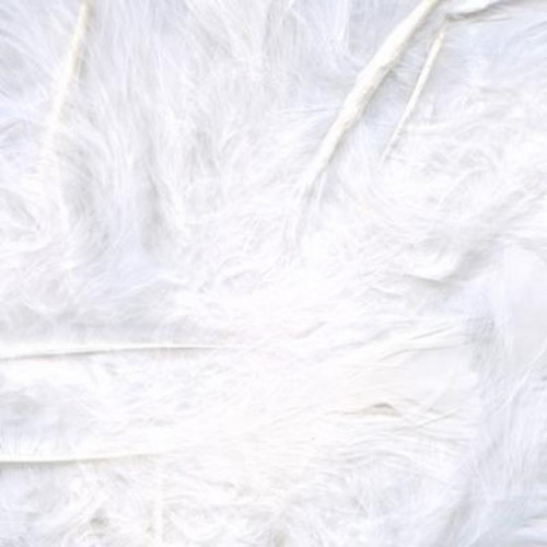 8G Bag White Feathers