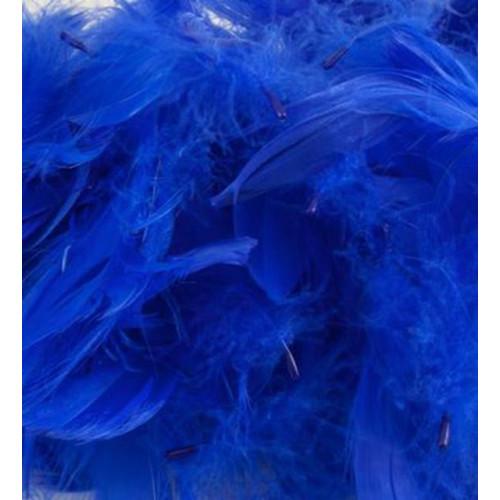 50G Bag Rl.Blue Feathers