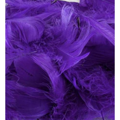 50G Bag Puple Feathers