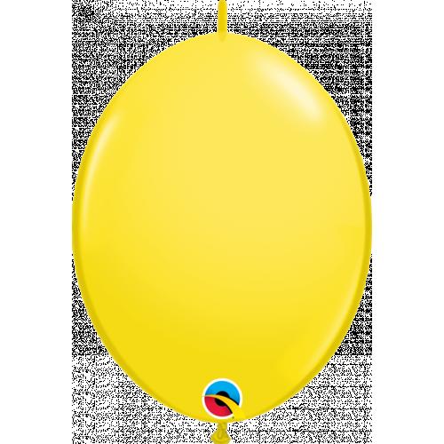 "12"" Qlink Yellow Pk50"