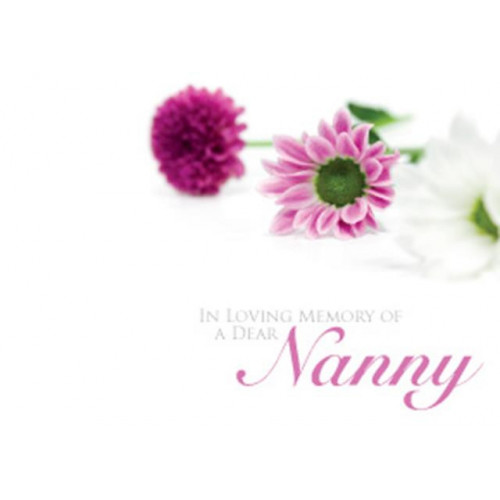 Large Cards ILM Of A Dear Nanny