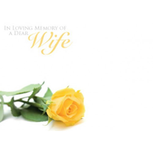 Large Cards ILM Of A Dear Wife