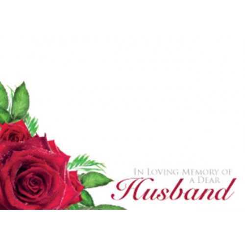 Large Cards ILM Of A Dear Husband
