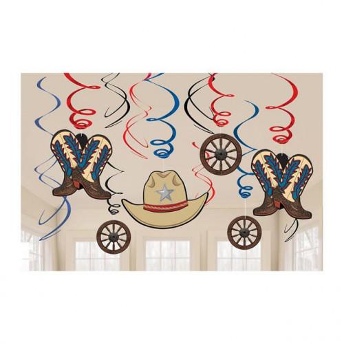 Western Swirl Decoration