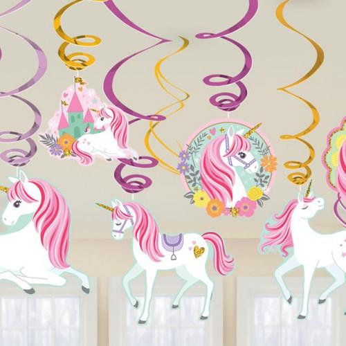 Magical Unicorn Swirl Dec