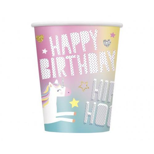 8 UNICORN 9OZ PAPER CUP