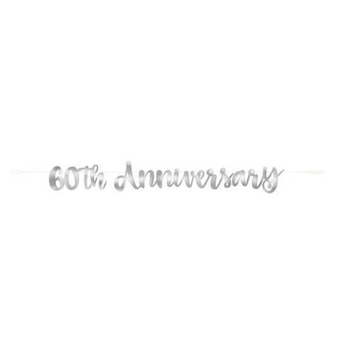 Diamond Anniversary Banner