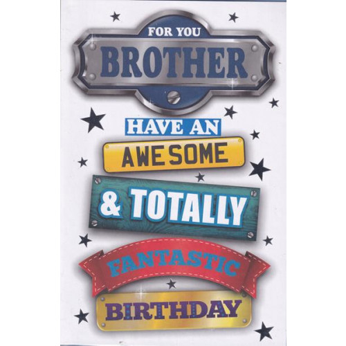 PK6 C75 CARDS GREETINGS STOCK CONTROL BROTHER