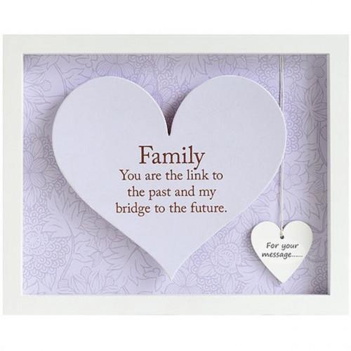 Family Heart Frame