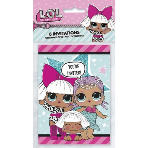 Lol Surprise Invitations