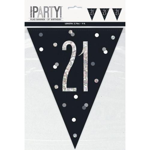 21 Flag Banner 9ft