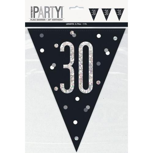 30 Flag Banner 9ft